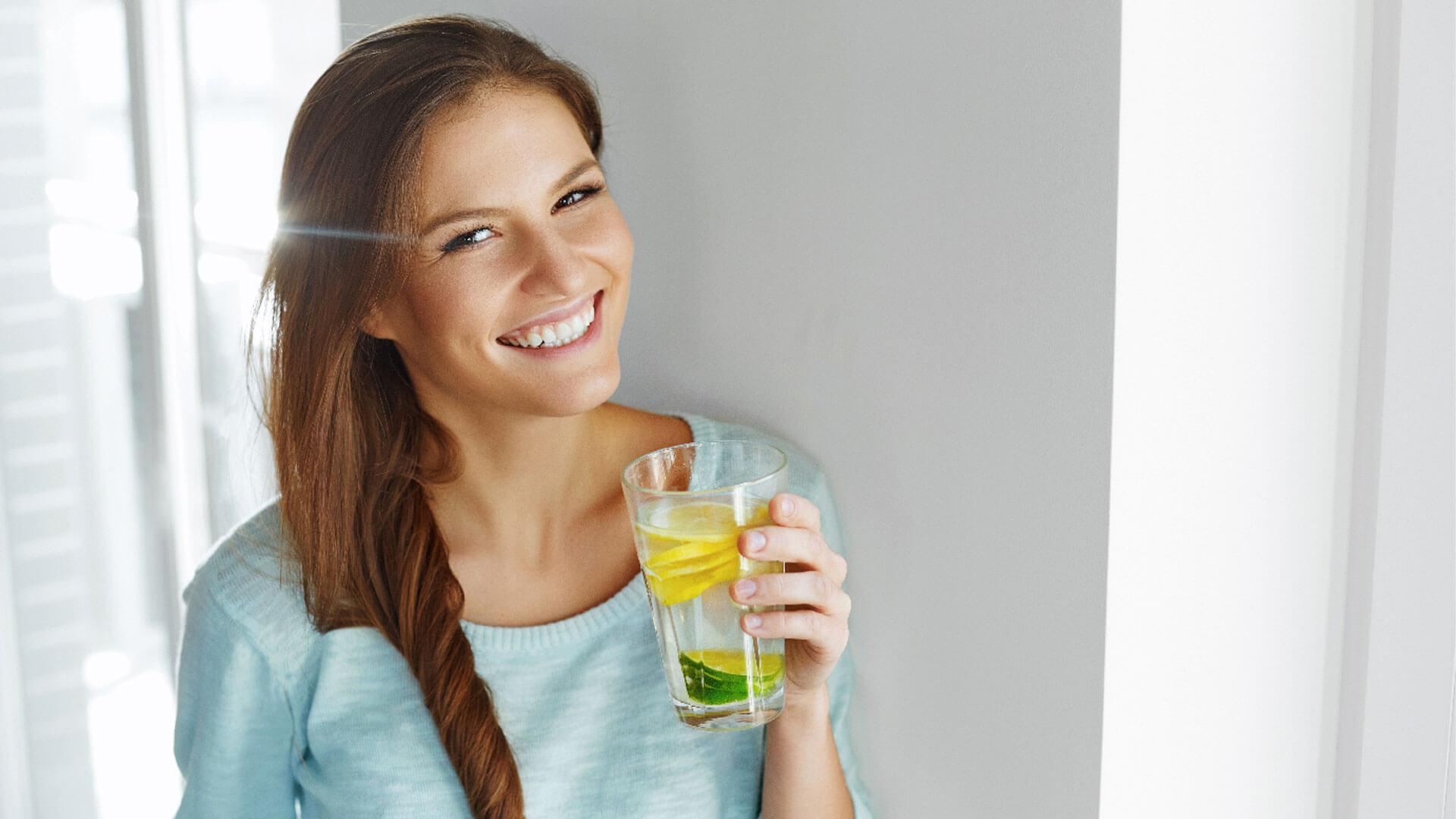 Le bevande detox aiutano l'organismo a restare in forma